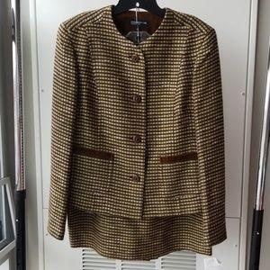Jones New York 2-piece Skirt Suit Sz 14